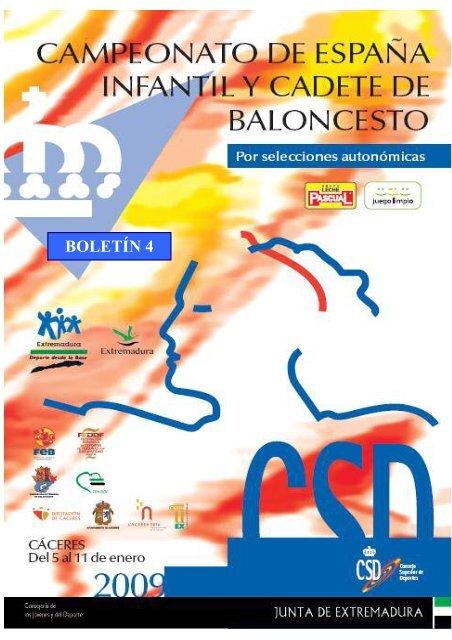 BOLETÍN 4 - Federación Andaluza de Baloncesto