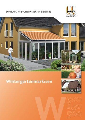 Wintergartenmarkisen
