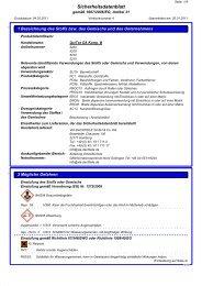 Sicherheitsdatenblatt QuiTex DA Komponente B - via-Dachteile