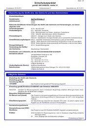 Sicherheitsdatenblatt QuiTex B Komponente A - via-Dachteile