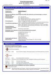 Sicherheitsdatenblatt QuiTex R Komponente B - VIA-DACHTEILE