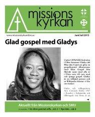 Glad gospel med Gladys - Missionskyrkan Tibro