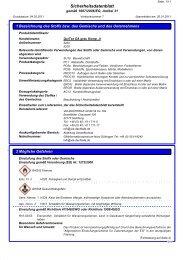 Sicherheitsdatenblatt QuiTex DA grau Komponente A - via-Dachteile