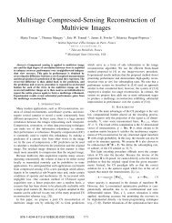 Multistage Compressed-Sensing Reconstruction of Multiview Images