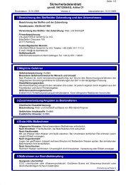 Sicherheitsdatenblatt DICHT7 - via-Dachteile