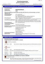 Sicherheitsdatenblatt QuiTex PD 40 Komponente B - via-Dachteile