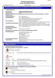 Sicherheitsdatenblatt QuiTex Deckspachtel ... - via-Dachteile