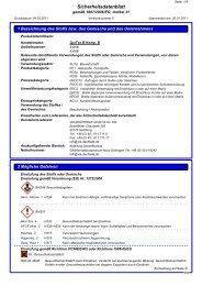 Sicherheitsdatenblatt QuiTex B Komponente B - via-Dachteile