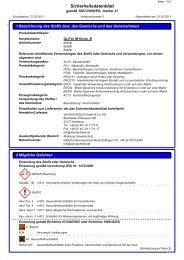 Sicherheitsdatenblatt QuiTex IB Komponente B - via-Dachteile