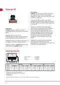 Tekniske data røgsugere, styringer og tilbehør - Page 6