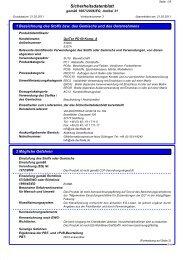 Sicherheitsdatenblatt QuiTex PD 60 Komponente A - via-Dachteile