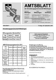 Wittislingen KW 39