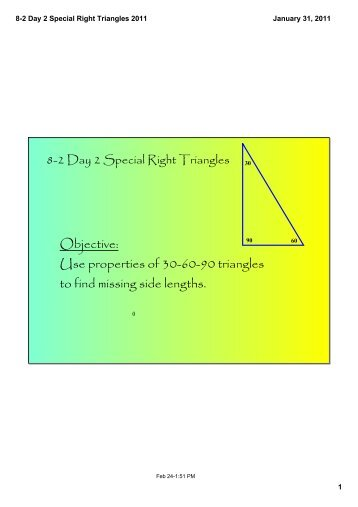 8-2 Day 2 Special Right Triangles 2011.pdf