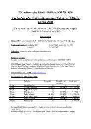 Závěrečný účet - Dolní Nětčice