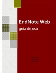 EndNote Web - Biblioteca/Centro de Informação e Referência em ...