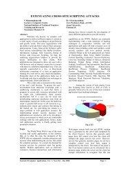 extenuating cross-site scripting attacks - Journal Of Computer ...