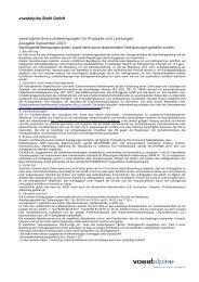 voestalpine Stahl GmbH