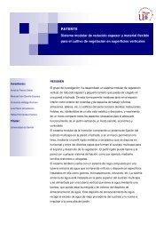 Sistema modular de reducido espesor y material flexible - OTRI