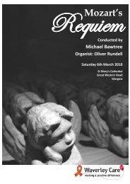 Requiem Mozart's - Waverley Care