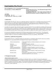 Panel hepático Plus Piccolo - Abaxis