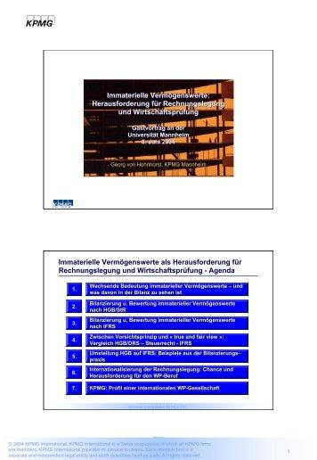 WP/StB Georg von Hohnhorst (KPMG, 08.06.2004) - wuestemann ...