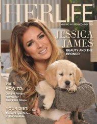 JESSICA JAMES - HER LIFE Magazine