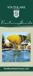 Visitors Guide - Visit Southlake Texas
