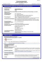 Sicherheitsdatenblatt QuiTex PD 40 Komponente A - via-Dachteile