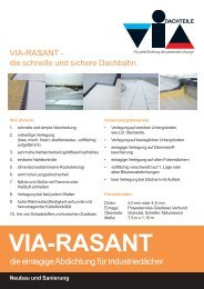 VIA-RASANT Argumente.p65 - VIA-DACHTEILE