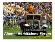SAT - Georgia Tech Alumni Association