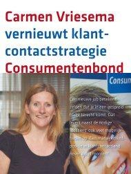 Klantcontact strategie Consumentenbond vernieuwt dankzij Carmen ...