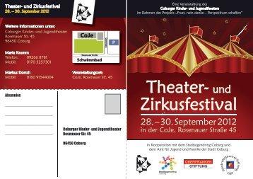 Informationen - Coburger Kinder- und Jugendtheater