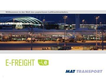 Dokumentenfluss mit E-Freight - Via Mat