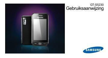 Handleiding Samsung S5230 Star Pink - Belsimpel.nl