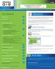 A&E Newsletter 14th edition