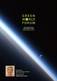 Presented by Nobel Peace Prize Laureate ... - green world forum