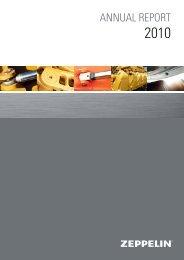 ANNUAL REPORT - ZEPPELIN GmbH
