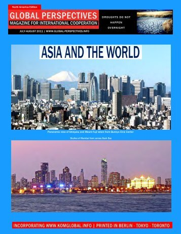 GLOBAL PERSPECTIVES | July-August 2011 - North America Edition