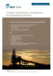 Condition Assessments, Due Diligence and Maintenance Reviews
