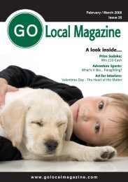 ocal agazine - GO Local Magazine