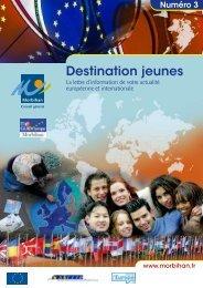Destination jeunes - Conseil général du Morbihan