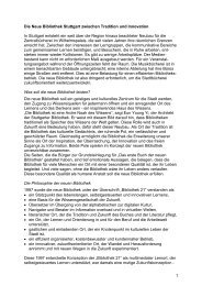 Die Konzeption der neuen Bibliothek und ihre Entwicklung (pdf)