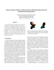 A theory of phase-sensitive rotation invariance with spherical ...