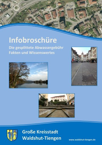 Infobroschüre - Stadt Waldshut-Tiengen