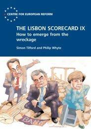 The Lisbon scorecard IX - Centre for European Reform