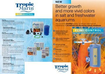 Better growth and more vivid colors in salt and freshwater aquariums