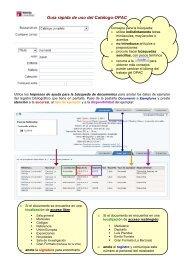 Guía rápida de uso del Catálogo-OPAC