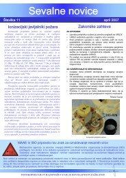 No Slide Title - Uprava Republike Slovenije za jedrsko varnost