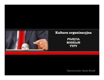 kultura_organizacyjna - Akademia Wychowania Fizycznego we ...
