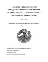 The excited state intramolecular hydrogen transfer mechanism of ...